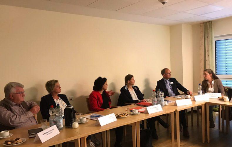 Mandelslohprojekt das Treffen der Vereine und Politik